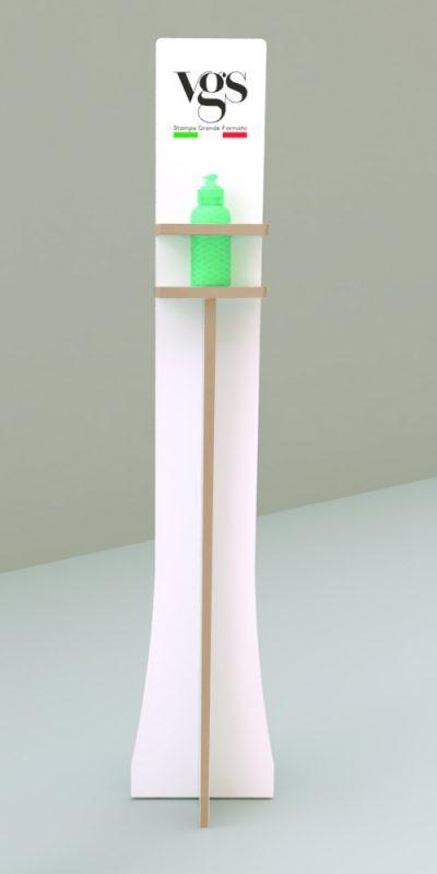 Colonnina portagel legno multistrato