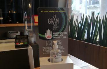 Dispenser da Banco 21 Gram